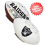 Oakland Raiders NFL Signature Series Full Size Football