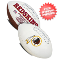 Collectibles, Footballs: Washington Redskins NFL Signature Series Full Size Football