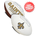 Collectibles, Footballs: New Orleans Saints NFL Signature Series Full Size Football