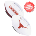 Collectibles, Footballs: Texas Longhorns NCAA Signature Series Full Size Football