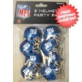 Helmets, Pocket Pro Helmets: New York Giants Gumball Party Pack Helmets