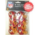 Helmets, Pocket Pro Helmets: Washington Redskins Gumball Party Pack Helmets