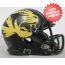 Missouri Tigers NCAA Mini Speed Football Helmet <B>Matte Black Alt</B>