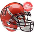 Helmets, Full Size Helmet: Virginia Tech Hokies Authentic College XP Football Helmet Schutt <B>Orange<...