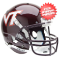 Helmets, Full Size Helmet: Virginia Tech Hokies Full XP Replica Football Helmet Schutt