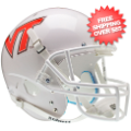 Helmets, Full Size Helmet: Virginia Tech Hokies Full XP Replica Football Helmet Schutt <B>White</B>