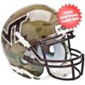 Helmets, Mini Helmets: Virginia Tech Hokies Mini XP Authentic Helmet Schutt <B>Camo</B>