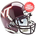 Helmets, Mini Helmets: Virginia Tech Hokies Mini XP Authentic Helmet Schutt