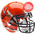 Helmets, Full Size Helmet: Virginia Cavaliers Authentic College XP Football Helmet Schutt <B>Orange</B...
