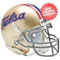 Helmets, Mini Helmets: Tulsa Golden Hurricane Mini XP Authentic Helmet Schutt