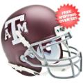 Helmets, Mini Helmets: Texas A&M Aggies Mini XP Authentic Helmet Schutt <B>Matte Maroon</B>