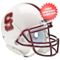 Helmets, Mini Helmets: Stanford Cardinal Mini XP Authentic Helmet Schutt
