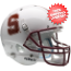 Stanford Cardinal Full XP Replica Football Helmet Schutt