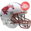 Helmets, Full Size Helmet: Southern Methodist (SMU) Mustangs Full XP Replica Football Helmet Schutt