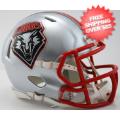 Helmets, Mini Helmets: New Mexico Lobos NCAA Mini Speed Football Helmet