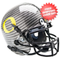 Helmets, Mini Helmets: Oregon Ducks Mini Authentic Helmet Schutt <B>Carbon Fiber</B>