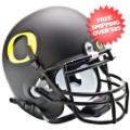 Helmets, Mini Helmets: Oregon Ducks Mini XP Authentic Helmet Schutt <B>Matte Black</B>