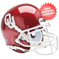 Helmets, Mini Helmets: Oklahoma Sooners Mini XP Authentic Helmet Schutt