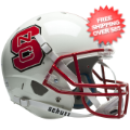 Helmets, Full Size Helmet: North Carolina State Wolfpack Full XP Replica Football Helmet Schutt