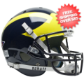 Helmets, Full Size Helmet: Michigan Wolverines Full XP Replica Football Helmet Schutt