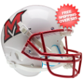 Helmets, Full Size Helmet: Miami of Ohio Redhawks Full XP Replica Football Helmet Schutt