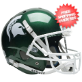 Helmets, Full Size Helmet: Michigan State Spartans Full XP Replica Football Helmet Schutt