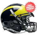 Helmets, Full Size Helmet: Michigan Wolverines Authentic College XP Football Helmet Schutt