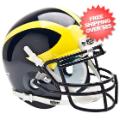 Helmets, Mini Helmets: Michigan Wolverines Mini XP Authentic Helmet Schutt