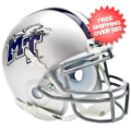 Helmets, Mini Helmets: Middle Tenn St Blue Raiders Mini XP Authentic Helmet Schutt