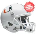 Helmets, Full Size Helmet: Miami Hurricanes Full XP Replica Football Helmet Schutt