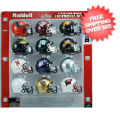 Helmets, Pocket Pro Helmets: Big Ten Revolution Pocket Pro Riddell Set Big 10