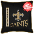 Home Accessories, Bed and Bath: New Orleans Saints Toss Pillow Sideline