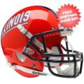 Helmets, Full Size Helmet: Illinois Fighting Illini Full XP Replica Football Helmet Schutt