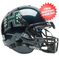 Helmets, Full Size Helmet: Hawaii Warriors Authentic College XP Football Helmet Schutt