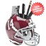 Alabama Crimson Tide Mini Football Helmet Desk Caddy #15