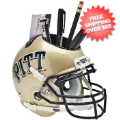Office Accessories, Desk Items: Pittsburgh Panthers Miniature Football Helmet Desk Caddy
