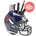 Office Accessories, Desk Items: Richmond Spiders Miniature Football Helmet Desk Caddy