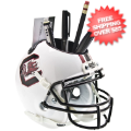 Office Accessories, Desk Items: South Carolina Gamecocks Miniature Football Helmet Desk Caddy