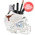 Office Accessories, Desk Items: Texas Longhorns Miniature Football Helmet Desk Caddy