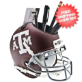 Office Accessories, Desk Items: Texas A&M Aggies Miniature Football Helmet Desk Caddy