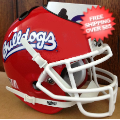 Office Accessories, Desk Items: Fresno State Bulldogs Mini Football Helmet Desk Caddy <B>Scarlet</B>