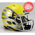 Helmets, Mini Helmets: Oregon Ducks LiquidMetal Mini Football Helmet <B>Liquid Lightning HydroSkin...