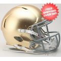 Helmets, Full Size Helmet: Notre Dame Fighting Irish Speed Football Helmet <B>HydroSkin</B>