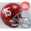 Alabama Crimson Tide Full Size Replica Football Helmet #15