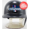 Helmets, Mini Helmets: Boston Red Sox 2013 World Series MLB Mini Batters Helmet Champs <B>Disconti...