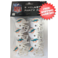 Helmets, Pocket Pro Helmets: Miami Dolphins Gumball Party Pack Helmets