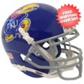 Helmets, Mini Helmets: Kansas Jayhawks Mini XP Authentic Helmet Schutt