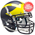 Helmets, Full Size Helmet: Michigan Wolverines Authentic College XP Football Helmet Schutt <B>Matte Bl...