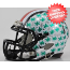 Ohio State Buckeyes NCAA Mini Speed Football Helmet <B>2012 Red Chrome Stripe</B>