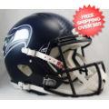 Helmets, Full Size Helmet: Seattle Seahawks Speed Football Helmet <B>HydroFX</B>